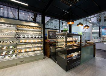 Monitoimihylly jossa yhdistyy lämpöhylly ja kylmähylly - Suomen myymäläkaluste